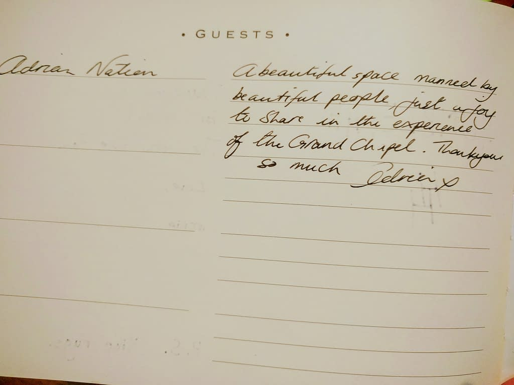 Adrian Nation Guestbook