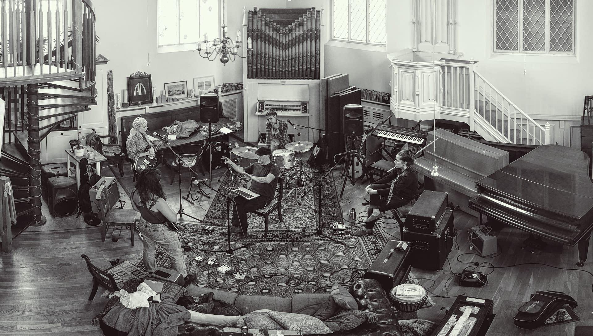MARINE at Grand Chapel Studios with Rob Ellis