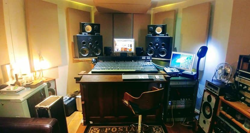 Grand Chapel Studios - Control Room - Quested H208s, Yamaha NS10s, Neve, SSL, Vipre, Distressor, Valve, BSS DPR-402