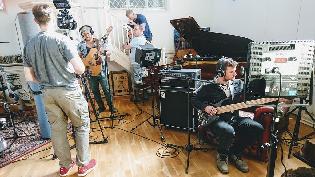 Tom Dibb - 'Tracks' Video Shoot