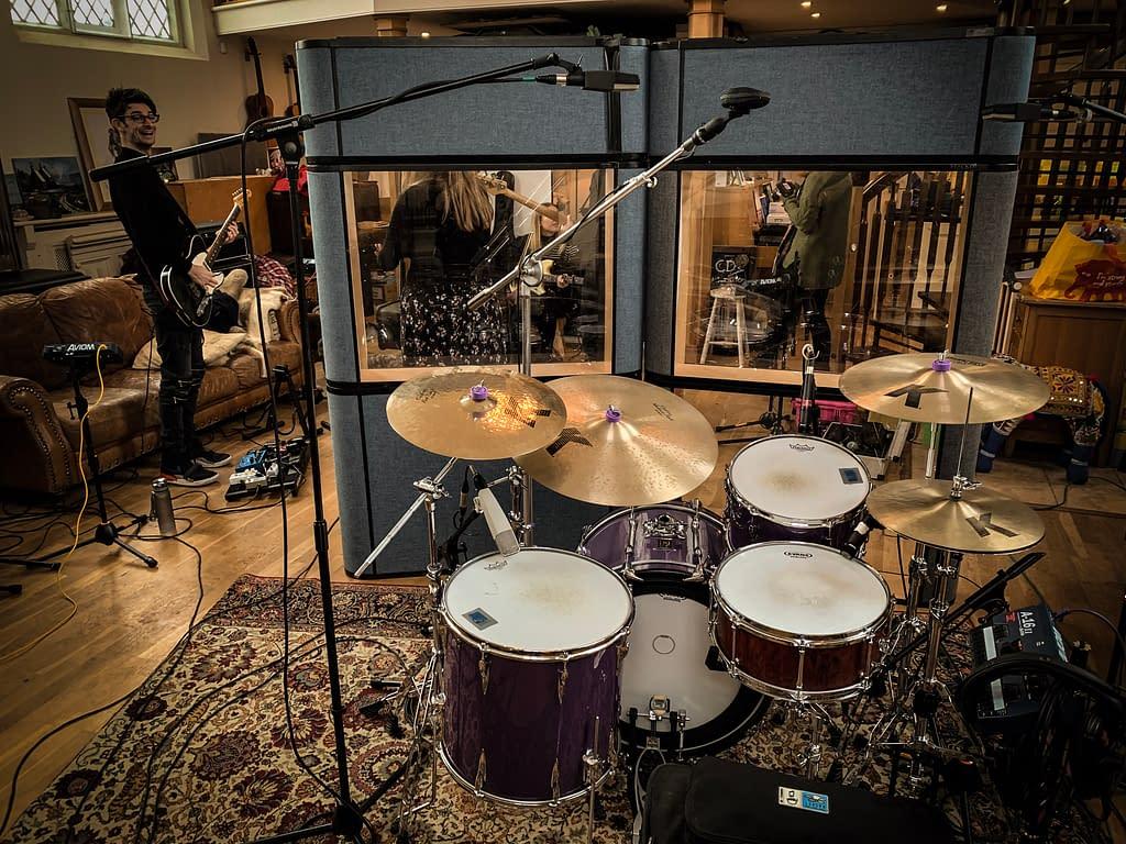 Drum Recording - Overheads Setup