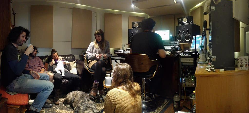 Control Room at Grand Chapel Studios