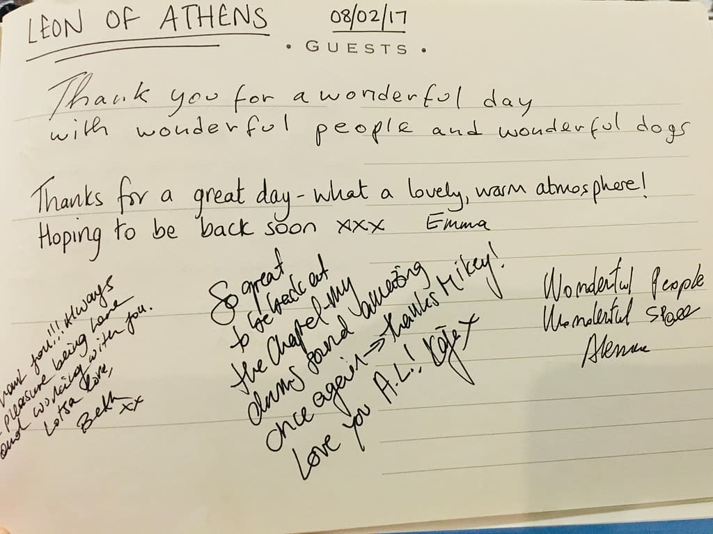 Leon Of Athens Guestbook